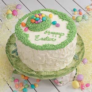 Easter Cake Decorating Recipes : Poppy Seed Easter Cake Recipe Taste of Home