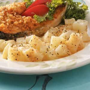 Cubed Parmesan Potatoes Recipe