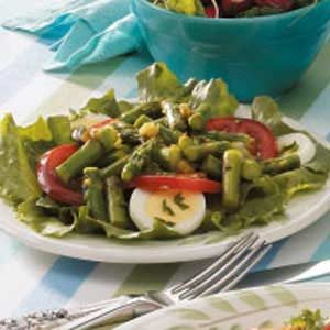 Pickle Asparagus Salad Recipe