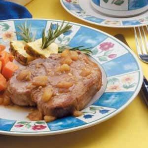 Pineapple Pork Chops