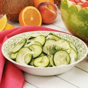 Cucumber Fennel Salad Recipe