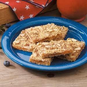 Pineapple Almond Bars Recipe