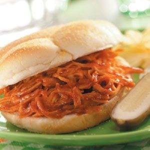 Shredded Barbecued Turkey Sandwiches Recipe