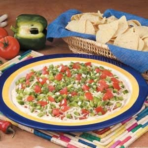Layered Creamy Taco Dip Recipe
