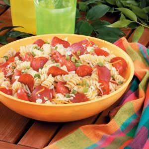 Makeover Pizza Pasta Salad Recipe