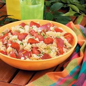 Makeover Pizza Pasta Salad Recipe