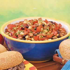 Chili-Cumin Bean Salad Recipe