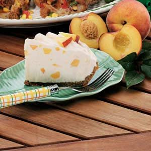 Frosty Peach Pie Supreme Recipe