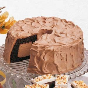 Chocolate Lover's Chiffon Cake Recipe