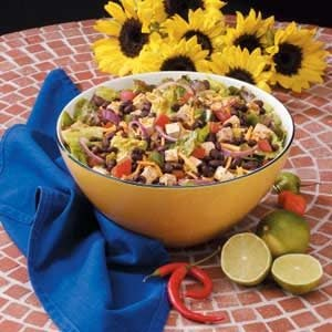 Black Bean Chicken Salad Recipe