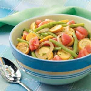 Squash and Bean Saute Recipe