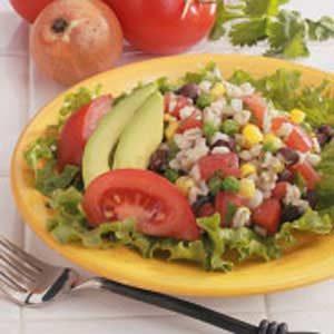 Southwestern Barley Salad Recipe