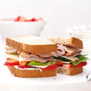 Berry Turkey Sandwich Recipe