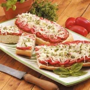 Italian Red Pepper Bruschetta Recipe