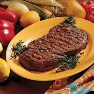 Marinated Sirloin Steak Recipe