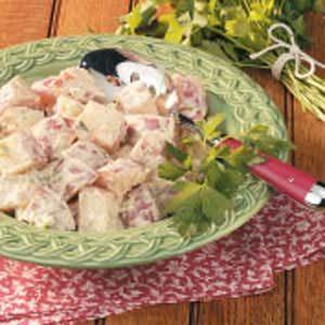 Zesty Low-Fat Potato Salad Recipe
