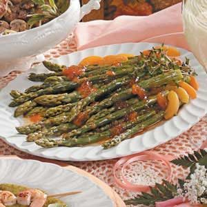 Apricot-Ginger Asparagus Recipe