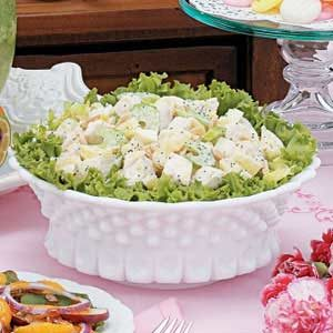Easy Almond Chicken Salad Recipe