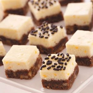 Chocolate Cheesecake Squares Recipe