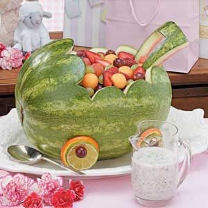 watermelon baby carriage recipe photo by taste of home