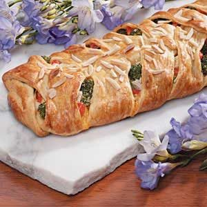 Broccoli Chicken Braid Recipe