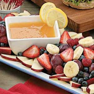Citrusy Fruit Dip Recipe