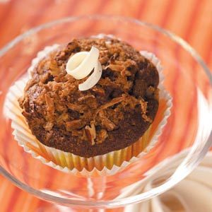 German Chocolate Cupcakes Recipe