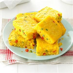 Peppered Corn Bread Recipe