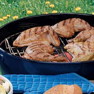 Grilled Picnic Chicken Recipe