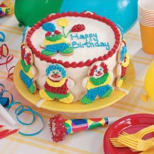 Clown Cake Recipe