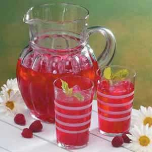 Raspberry Mint Cooler Recipe