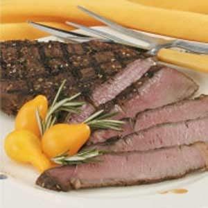 Sesame Sirloin Steak