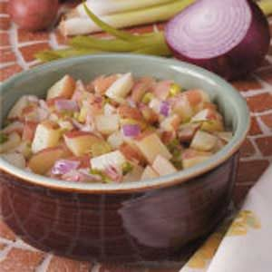 Warm Potato Salad Recipe