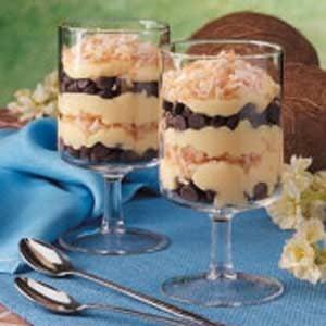 Chocolate Chip Pudding Parfaits Recipe