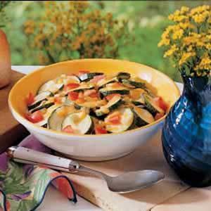 Zucchini Santa Fe Recipe