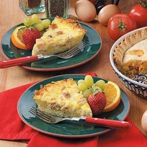 Potato-Crust Chicken Quiche Recipe
