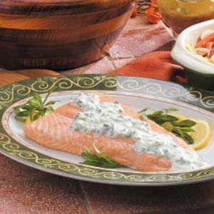 Salmon with Creamy Tarragon