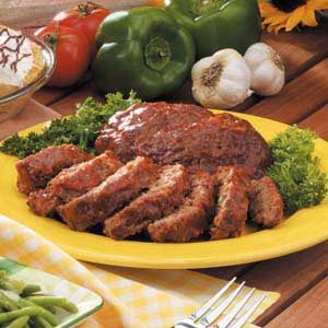 Grilled Meat Loaf Recipe