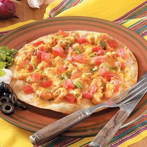 Crawfish Pizzas Recipe