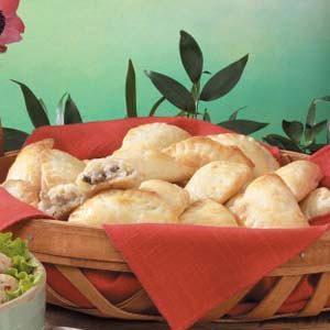 Mushroom Turnovers Recipe