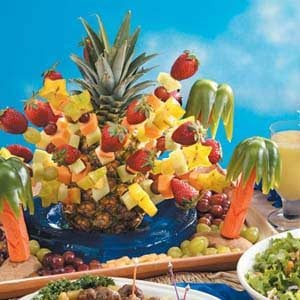 Luau Centerpiece Recipe | Taste of Home