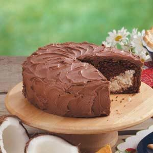 Chocolate Macaroon Cake Recipe