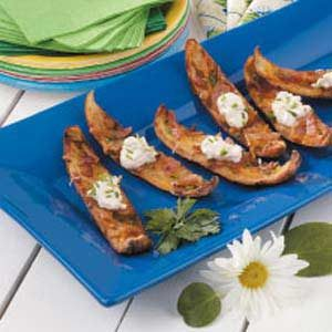 Deep-Fried Potato Skins Recipe