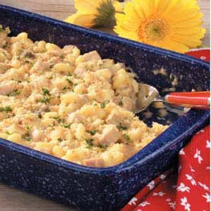 Cheesy Ham Macaroni Recipe