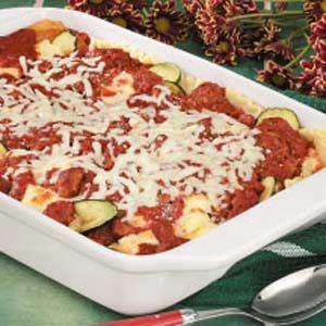 Zucchini Sausage Lasagna Recipe