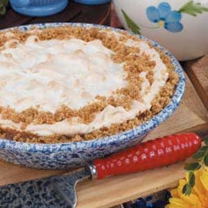 Custard Meringue Pie