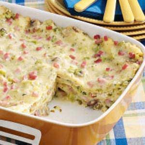 Chicken and Ham Lasagna Recipe