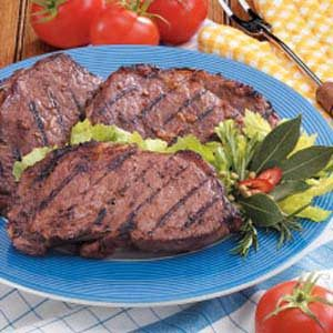 Simple Marinated Ribeyes Recipe