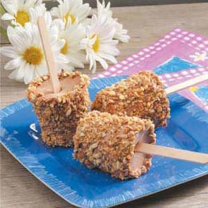 Almond Fudge Pops