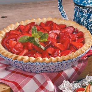 Refreshing Strawberry Pie